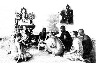 Upasampada - Upasampada of a Buddhist monk in Burma