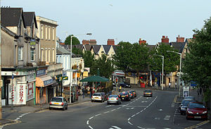 Uplands, Swansea - Image: Uplands square