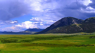 Red Rock Lakes National Wildlife Refuge - Upper Red Rock Lake and Centennial Mountains