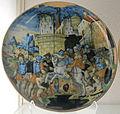 Urbino o dintorni, sacrificio di marco curzio, XVI sec..JPG