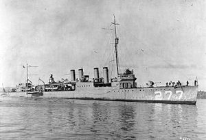 USS Moody (Destroyer # 277, later DD-277)