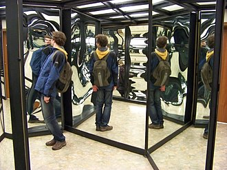 House of mirrors - A house of mirrors in the Czech Republic