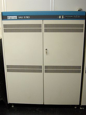 Berkeley Software Distribution - The VAX-11/780, a typical minicomputer used for early BSD timesharing systems