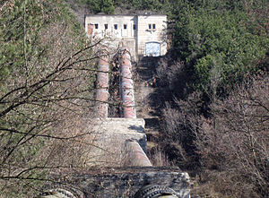 Pancharevo hydroelectric power station