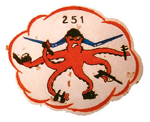VMFA-251 - Squadron insignia when they were VMO-251
