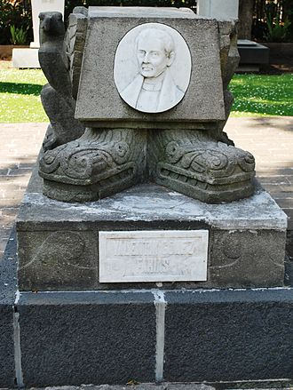 Valentín Gómez Farías - Tomb of President Gómez Farías in the Panteón de Dolores of Mexico City
