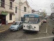 Valparaiso trolley