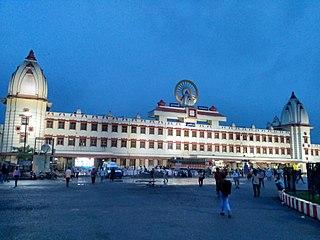 Varanasi Junction railway station Railway junction station in Varanasi, Uttar Pradesh, India.