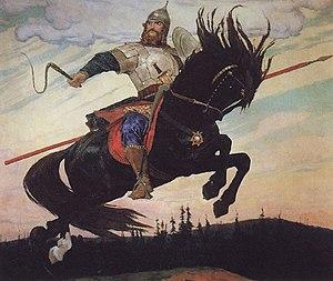 Ilya Muromets - Ilya Muromets (1914) by Viktor Vasnetsov