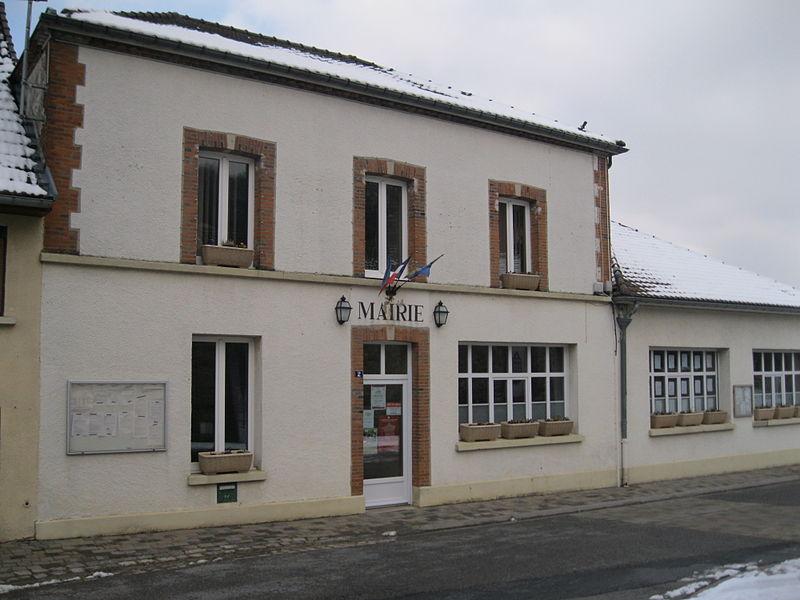 La mairie de Vauciennes.