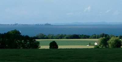 Ven countryside, with Elsinore visible across the sound