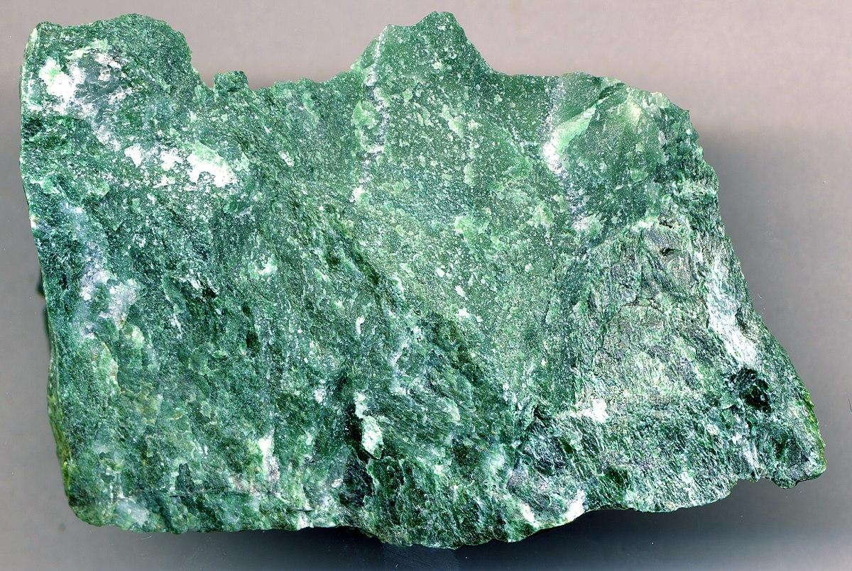 White Metamorphic Rock : Fuchsite wikipedia