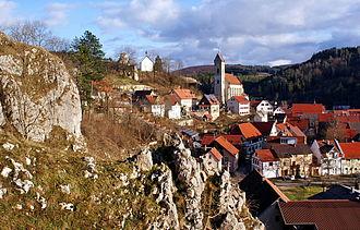 Veringenstadt - Veringenstadt - Castle and Peter chapell