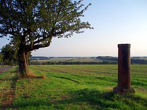 "Kohren-Sahlis - Triangulation Pillar ""Sahlis near Frohburg"""