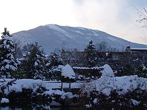 Naousa, Imathia - Vermio covered in snow