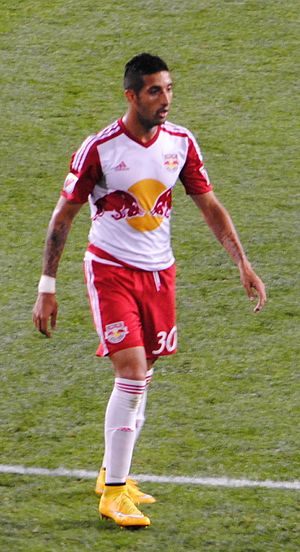 Gonzalo Verón - Verón with the New York Red Bulls in 2015.