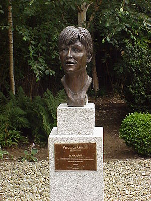 Sunday Independent (Ireland) - Veronica Guerin memorial, Dublin