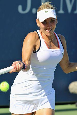 Elena Vesnina - Vesnina at the 2016 US Open
