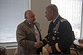Vice Chief of Staff of the U.S. Army Gen. John F. Campbell meets with Roger Ailes, president of Fox News and chairman of the Fox Television Stations Group, at the Fox News Headquarters in Times Square, New York 130507-A-EL344-433.jpg