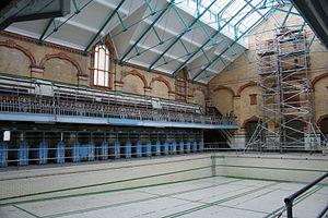 Victoria Baths - The interior in 2010