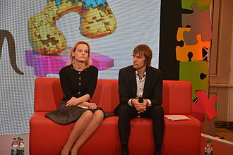 Junior Eurovision Song Contest 2013 - Victoria Romanova (executive producer), Vladislav Yakovlev (EBU Executive Supervisor)