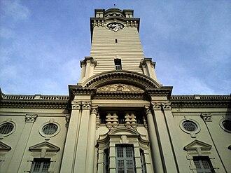 Architecture of Singapore - Victoria Theatre and Concert Hall