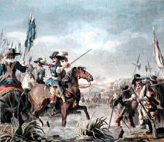 Battle of Staffarda - Image: Victory of Staffarda 1690