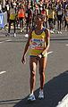 Vienna 2013-04-14 Vienna City Marathon - F9 Cruz Nonata da Silva, BRA, preparing for race b.jpg