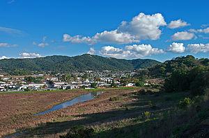 Santa Venetia, California - Santa Venetia, California, as seen from the nearby Terra Linda neighborhood