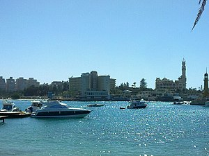 Alexandria: View from Montaza