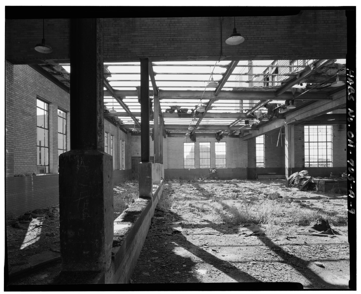 File view north interior clerestory detail cincinnati - Interior car detailing cincinnati ...