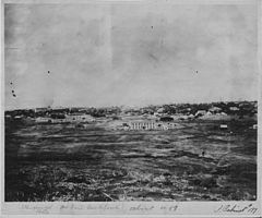 View of Honolulu from Punchbowl, in 1859, by Hugo Stangenwald (PPWD-8-6-008).jpg