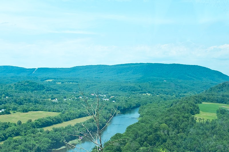 View of Potomac River at Junction of Cacapon River.jpg