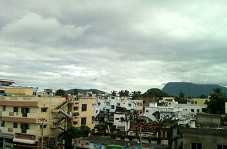Vizianagaram district - View of Vizianagaram town