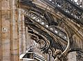 View through buttresses on roof of Milan Duomo.jpg