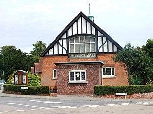 Saltwood - Image: Village Hall, Saltwood geograph.org.uk 1413523