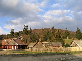 Comandău - Image: Village of Kommandó