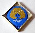 "Vintage ""Honey-Buns"" Blue Powder Compact, Misty Rose Love-Pat by Revlon, No. 9400, NOS (10008750305).jpg"