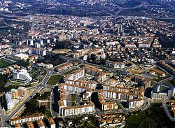 Panoramic view of Viseu.