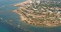 Vista aérea del Castillo de Santa Catalina.jpg