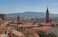 Vista de Calatayud desde la iglesia de La Peña, España, 2012-08-24, DD 02.JPG