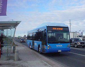 Viva Orange - Image: Viva orange bus 5123