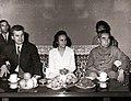 Vizita oficială a lui Nicolae Ceaușescu și a Elenei Ceaușescu în Republica Populară Chineză. Vizita protocolară la Ciu En Lai.( iunie 1971)..jpg