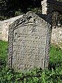 Vlachovo Březí, židovský hřbitov, náhrobky, 04.jpg