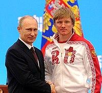 Vladimir Putin and Dmitry Yaparov 24 February 2014.jpeg