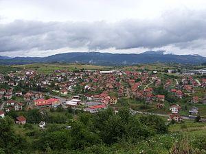 Vlasenica - Image: Vlasenica Panorama 3