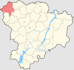 Uryupinsky District - Image: Volgogradskaya oblast Uryupinsky rayon