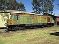 WAGR X class of the Hotham Valley Railway at Pinjarra, November 2019 02.jpg