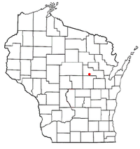 Location of Grant, Shawano County, Wisconsin