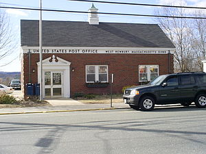 West Newbury, Massachusetts - U.S. Post Office in West Newbury, 2005